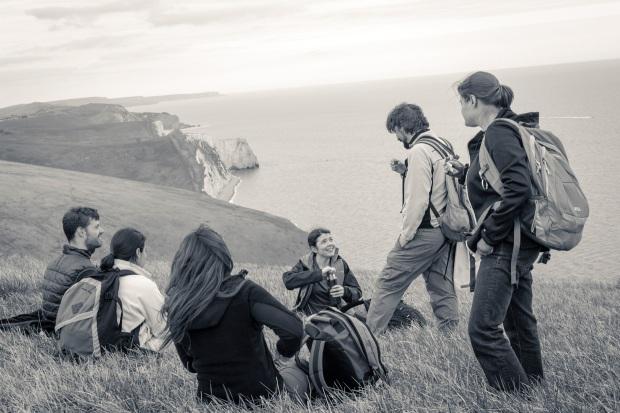hjorthmedh-pdoc-hike-coffe-break